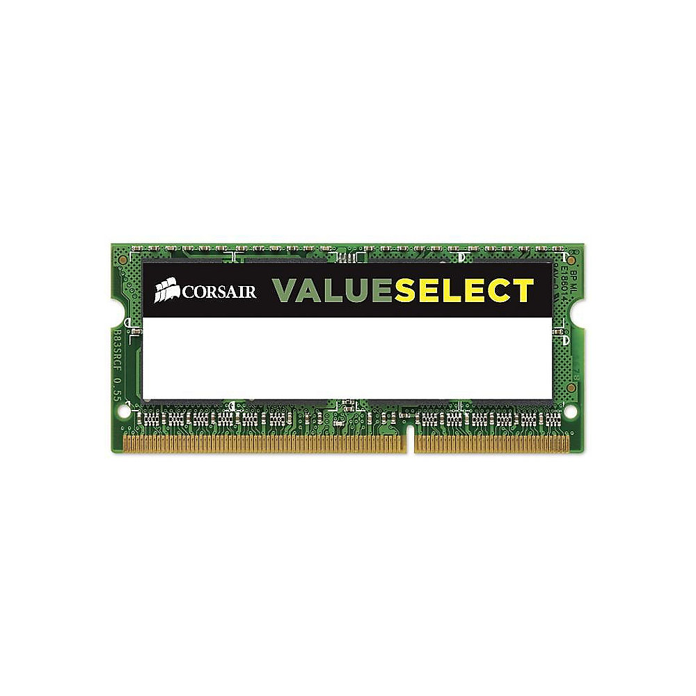 4GB Corsair Value Select DDR3L-1600 MHz CL 11 SODIMM Notebookspeicher