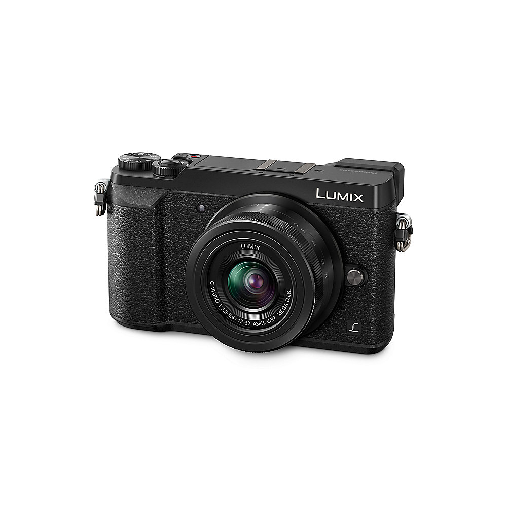 Panasonic Lumix DMC-GX80 Kit 12-32mm Systemkamera schwarz
