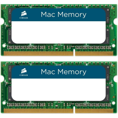 Corsair 16GB (2x8GB)  SODIMM PC10600/1333Mhz für MacBook Pro, iMac, Mac mini | 0843591014755