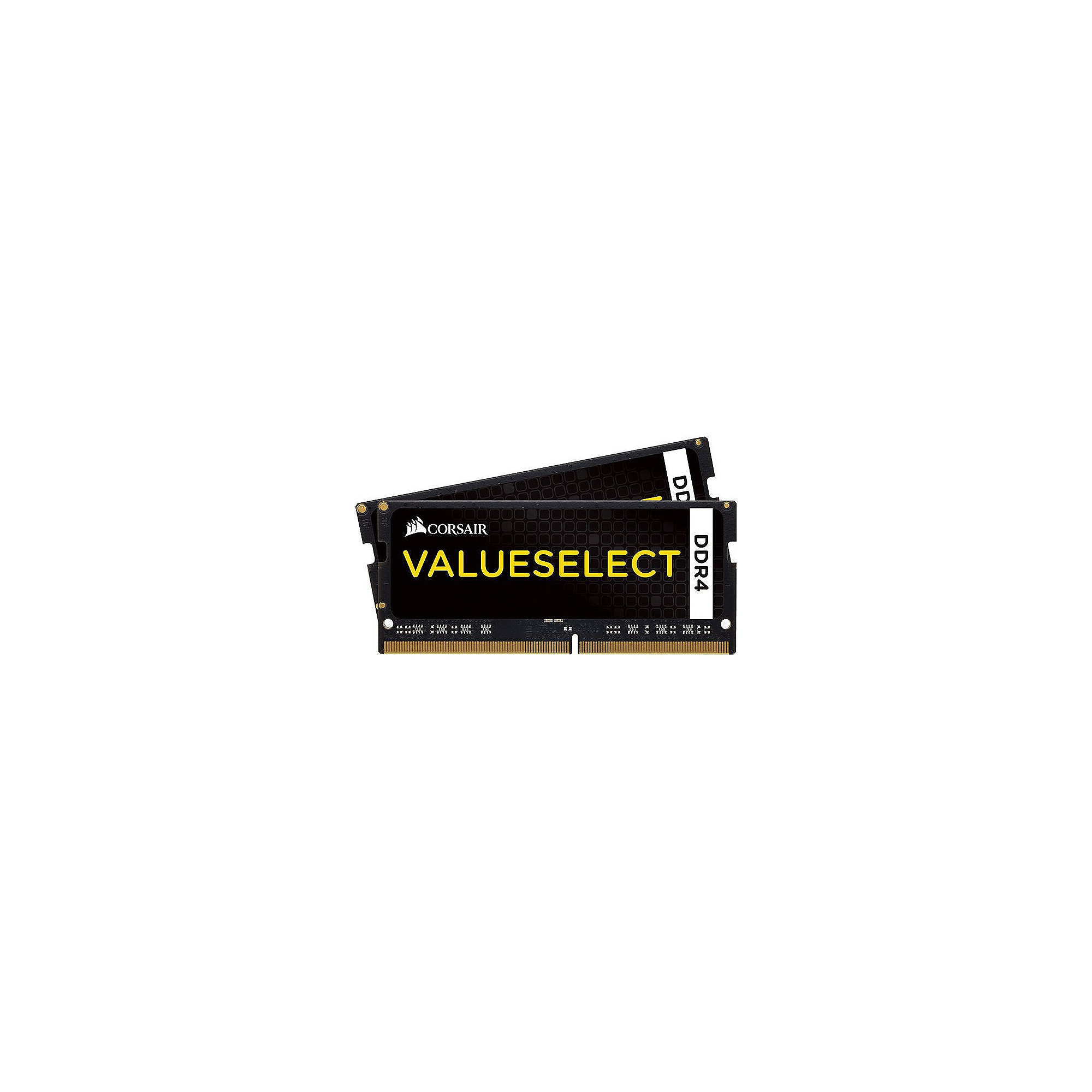 8GB (2x4GB) Corsair Value Select DDR4-2133 MHz CL 15 SODIMM Notebookspeicher