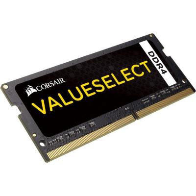 8GB Corsair Value Select DDR4-2133 MHz CL 15 SODIMM Notebookspeicher CMSO8GX4M1A2133C15