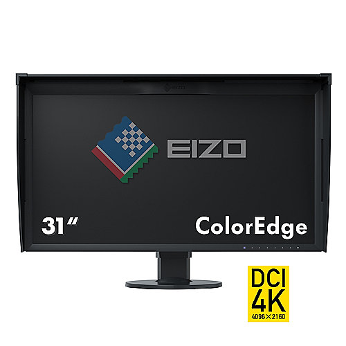 "EIZO ColorEdge CG318-4K 79cm/31,1"" schwarz 17:9 USB/HDMI/DP 9ms 99% aRGB"
