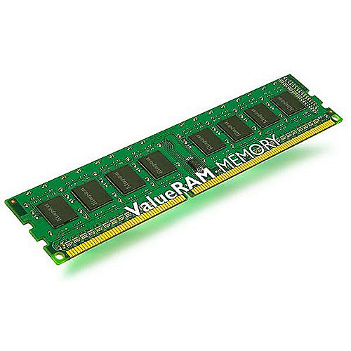 2GB Kingston Value RAM DDR3-1333 CL9 DIMM Ram Speicher | 0740617228250