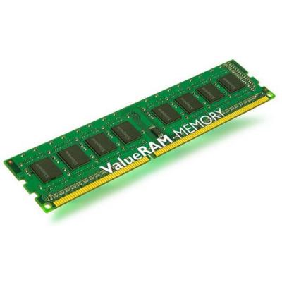 Kingston 2GB  Value RAM DDR3-1333 CL9 DIMM Ram Speicher | 0740617228250