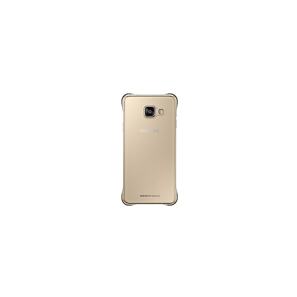 Samsung EF-QA310 Clear Cover für Galaxy A3 (2016) gold