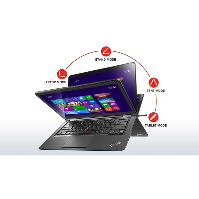 "Lenovo ThinkPad Yoga 14 20DM003TGE - i5-5200U 8GB/256GB SSD 14""FHD IPS W8.1P"