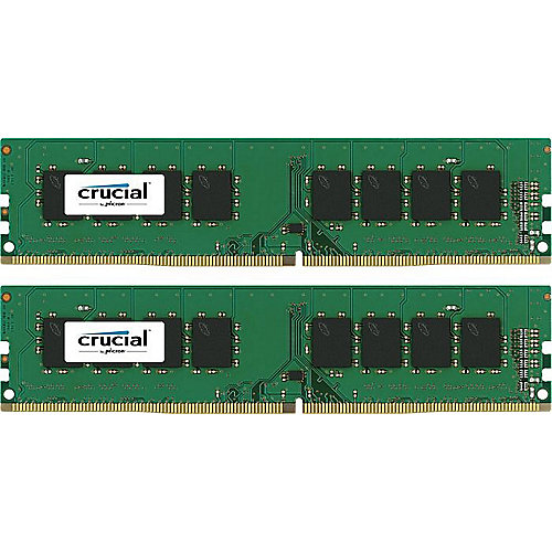 8GB (2x4GB) Crucial DDR4-2133 CL15 (15-15-15) RAM - Kit