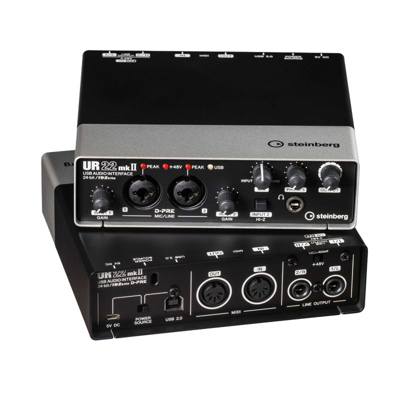 Steinberg UR22 MKII Audio Interface USB 2.0 schwarz