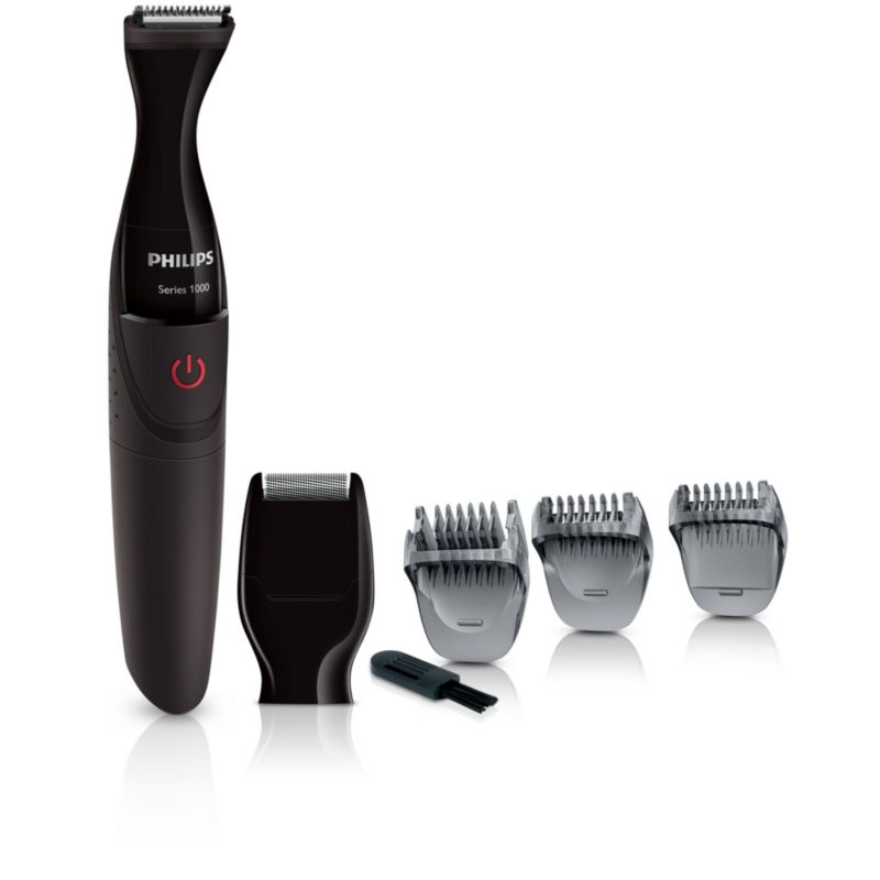 Philips MG1100/16 Series 1000 Multigroom Bartstyler schwarz