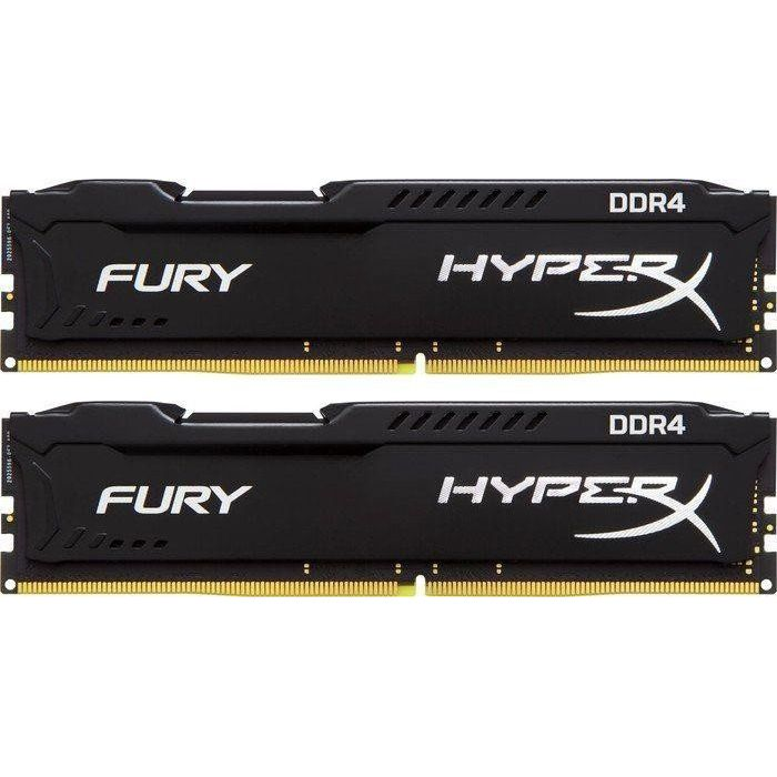 16GB (2x8GB) HyperX Fury schwarz DDR4-2133 CL14 RAM Kit