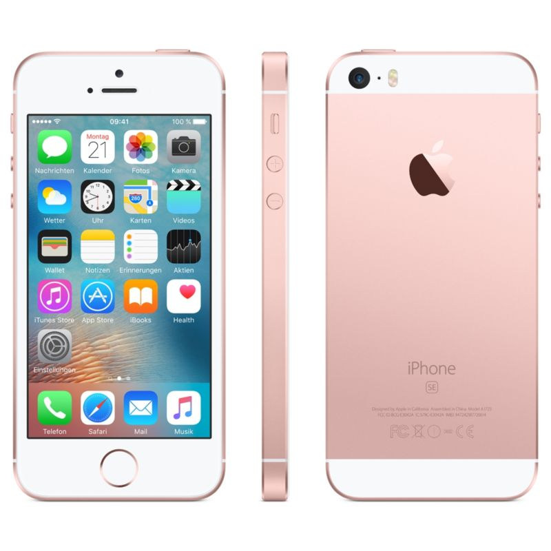 Apple iPhone SE 16 GB roségold