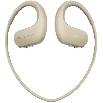 Sony  NW-WS413 Sport-Walkman 4GB (kabellos, Staubdicht) ivory/elfenbein | 4548736020467