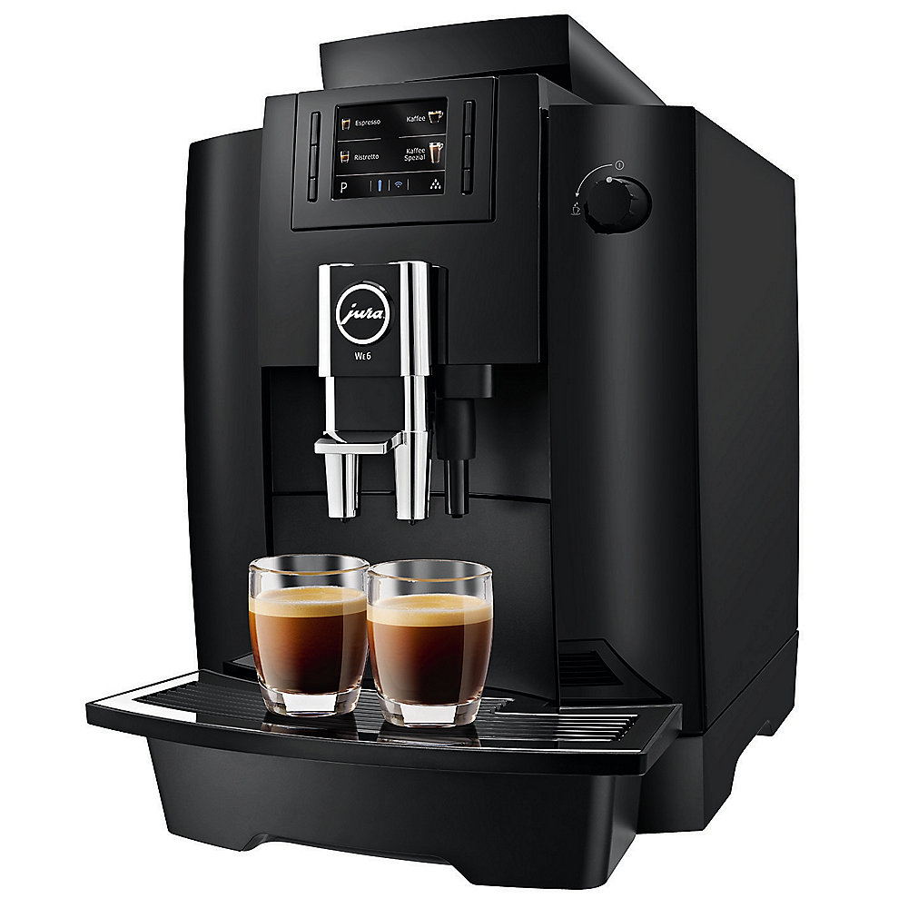 Jura Gastro WE6 Professional Kaffeevollautomat Piano Black