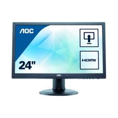 AOC  e2460Phu 59,9 cm (24″) Professional Monitor   4038986141680