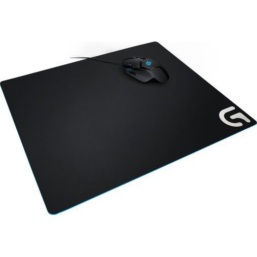 Logitech G640 Cloth Gaming Mousepad schwarz