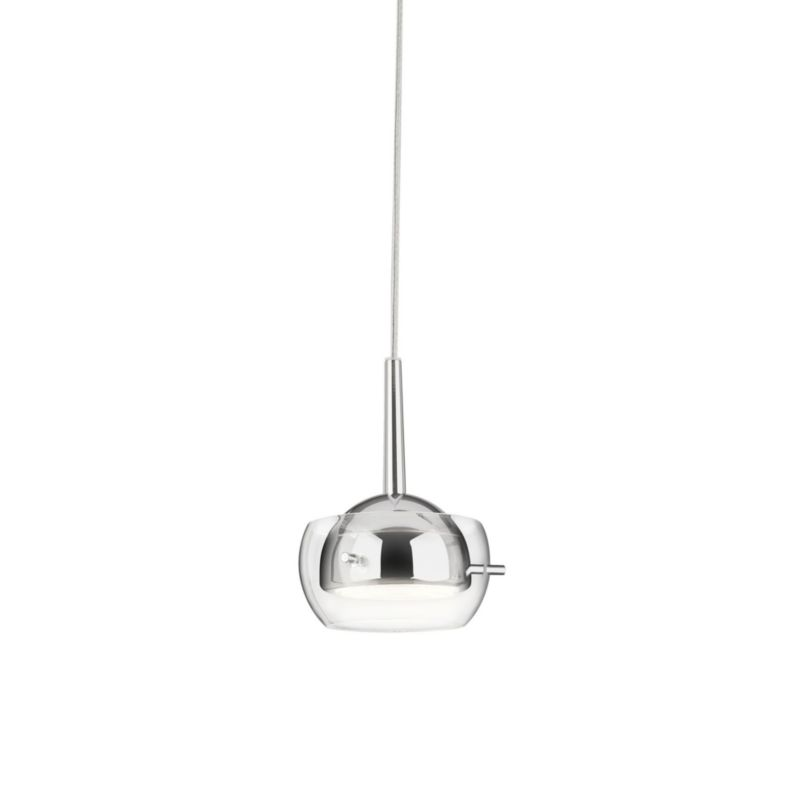 Philips myLiving Cypress LED-Pendelleuchte Chrom 3-flammig