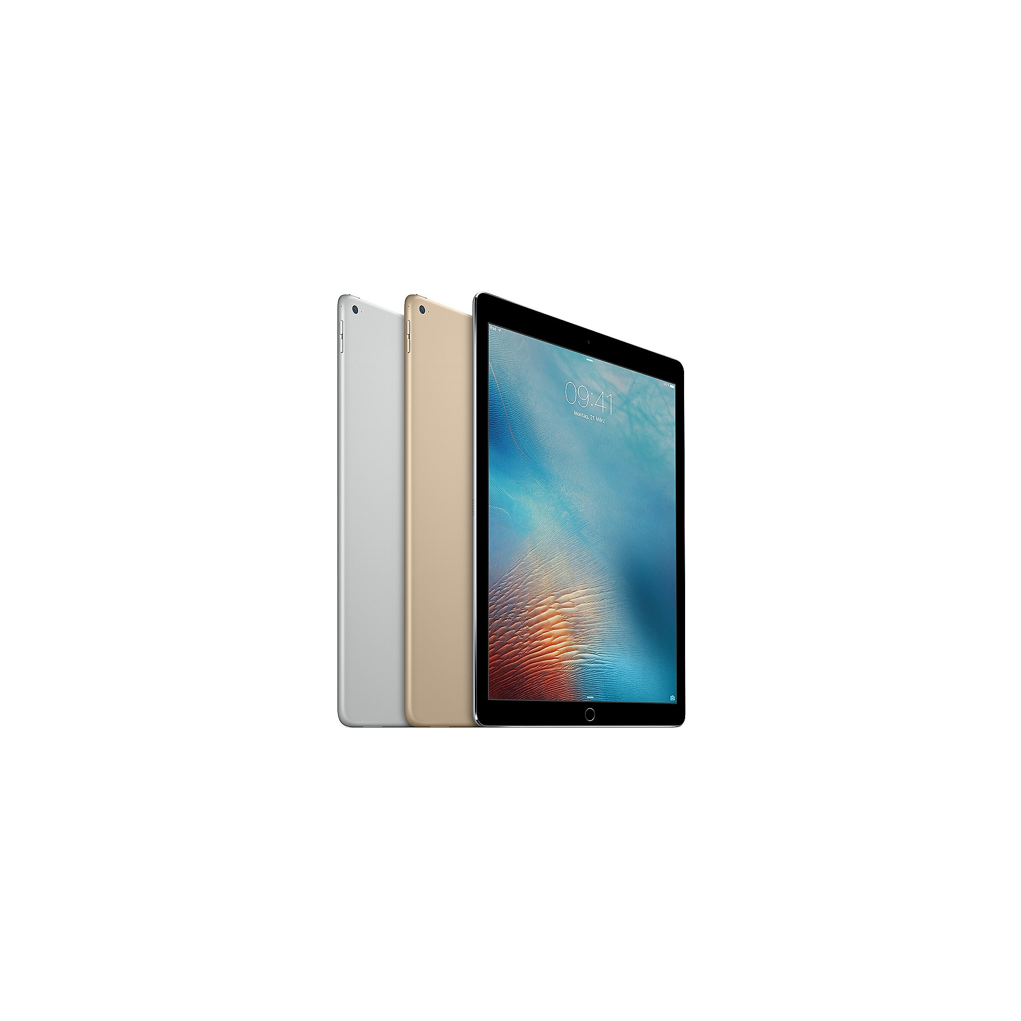 Apple iPad Pro Wi-Fi + Cellular 128 GB Spacegrau (ML3K2FD/A)