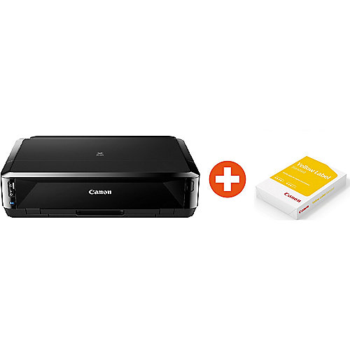 Canon PIXMA iP7250 Tintenstrahldrucker WLAN + 500 Blatt Papier Yellow Label