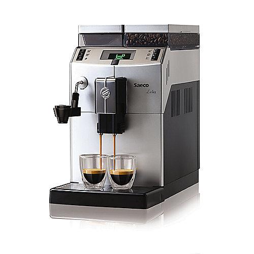 Saeco 10004477 Lirika Macchiato Kaffeevollautomat Silber | 8710103645634