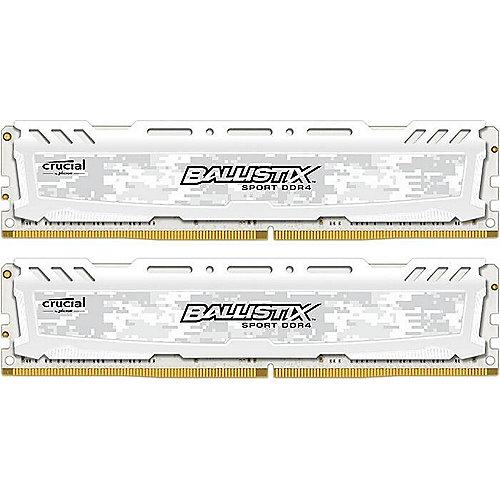 8GB (2x4GB)  Sport LT DDR4-2400 Weiss CL16 RAM Speicher | 0649528774323