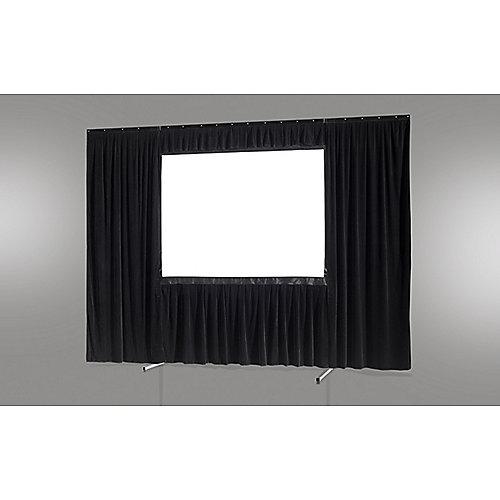 celexon Vorhangset 4-seitig für Faltrahmenleinwand Mobil Expert 305 x 190 cm | 4260094735219