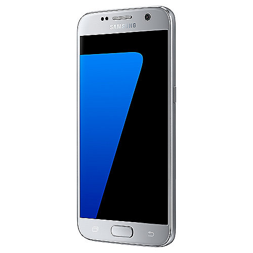 Samsung GALAXY S7 silver-titanium G930F 32 GB Android Smartphone
