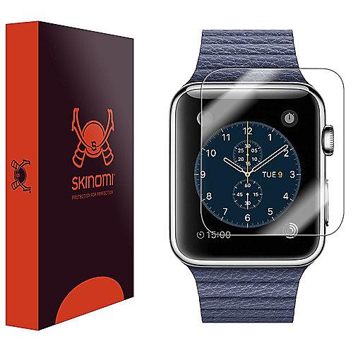 Skinomi TechSkin Schutzfolie für Apple Watch 42mm (6er Pack)
