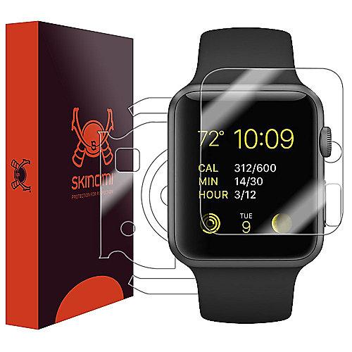 Skinomi TechSkin Schutzfolie für Apple Watch 38mm (6er Pack)