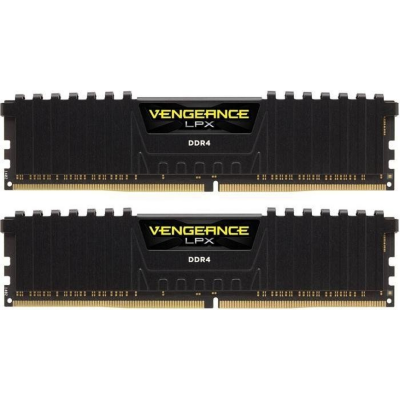 Corsair 16GB (2x8GB)  Vengeance LPX Black DDR4-3000 RAM CL15 (15-17-17-35) | 0843591070010