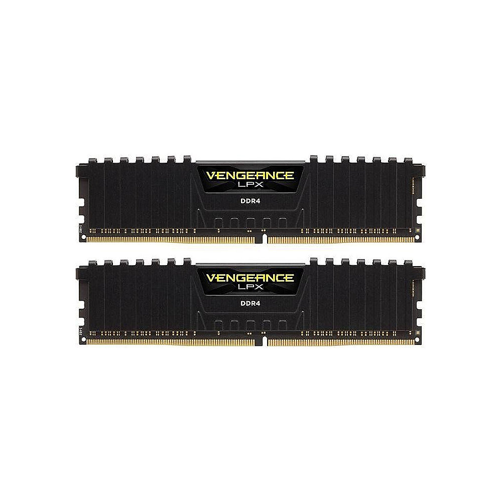 16GB (2x8GB) Corsair Vengeance LPX Black DDR4-3000 RAM CL15 (15-17-17-35)