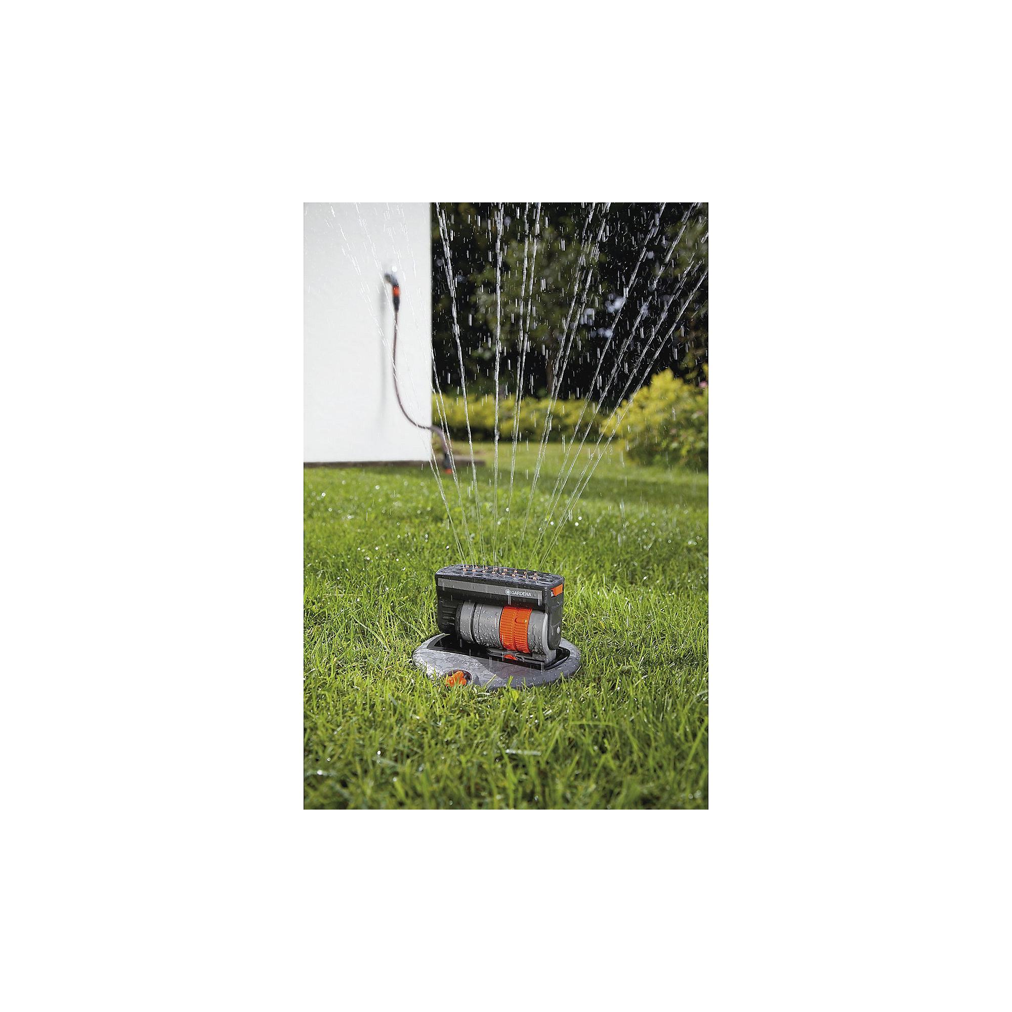 gardena 8221 20 komplett set mit versenk viereckregner os. Black Bedroom Furniture Sets. Home Design Ideas