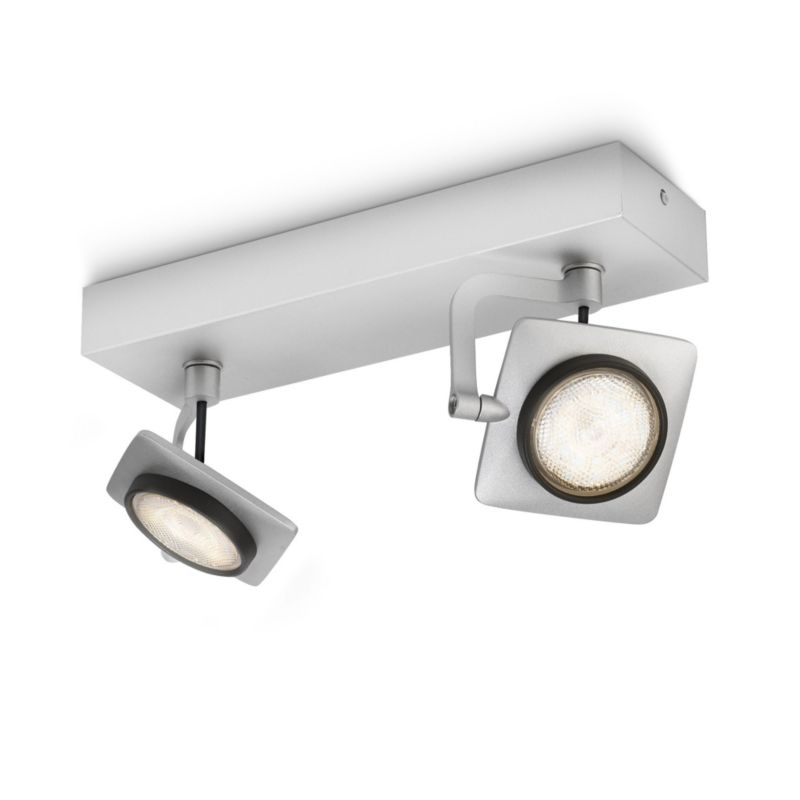 Philips myLiving Millennium LED-Wand-/Deckenspot Aluminium