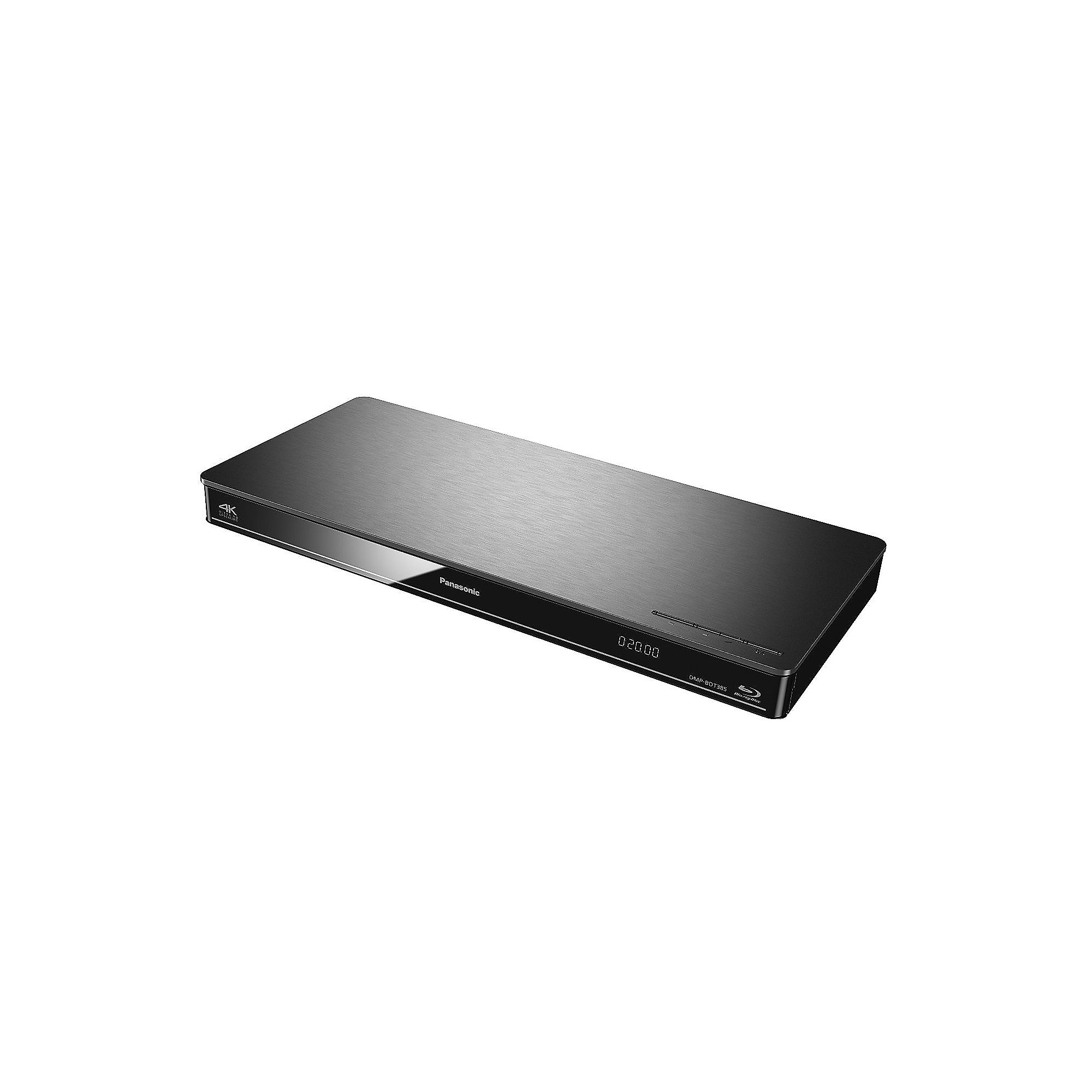 Panasonic DMP-BDT384 Silber 3D Blu-ray Player WLAN 4K DLNA