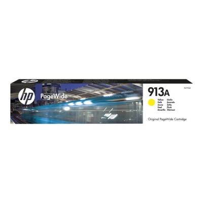 HP  913A Original Druckerpatrone Gelb ca. 3.000 Seiten F6T79AE für PageWide | 0889296544647
