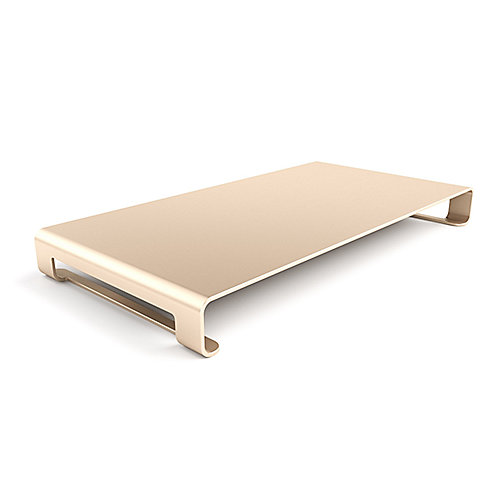 Satechi Slim Aluminum Monitor Stand Gold