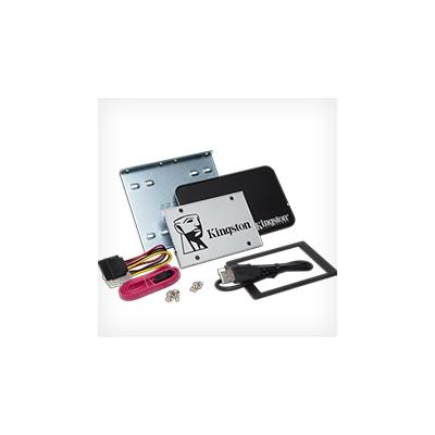 Kingston  SSDNow UV400 240GB TLC 2.5zoll SATA600 – 7mm – Kit | 0740617252910