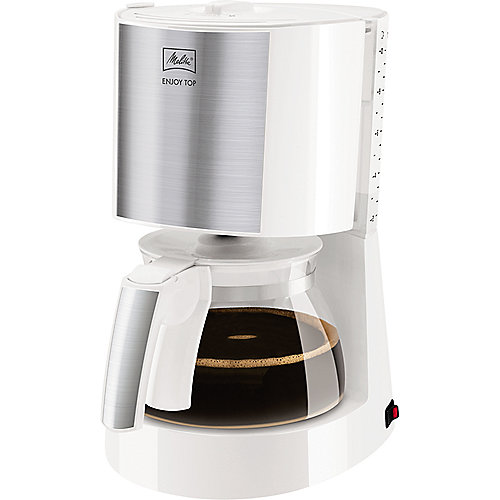 Melitta Enjoy Top 1017-03 Kaffeemaschine weiß | 4006508214464