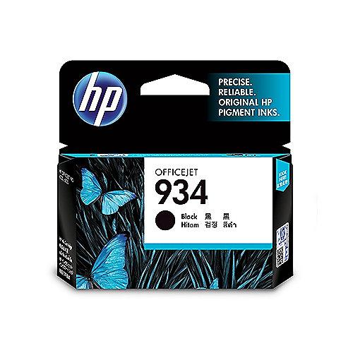 HP 934 Original Druckerpatrone Schwarz C2P19AE für ca. 400 Seiten