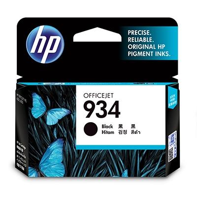HP  934 Original Druckerpatrone Schwarz C2P19AE für ca. 400 Seiten | 0888182034576