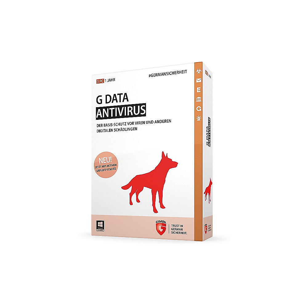 G DATA AntiVirus 2015 Win 3PC