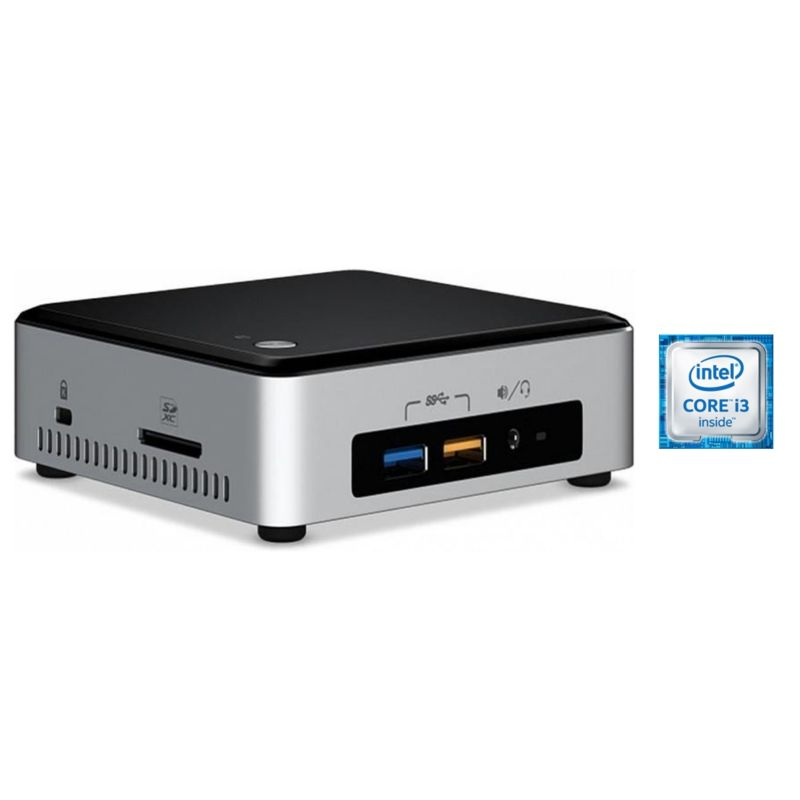 Intel Hyrican NUC 4995- i3-6100U 4GB/120GB SSD Intel HD 520 WLAN Win 10