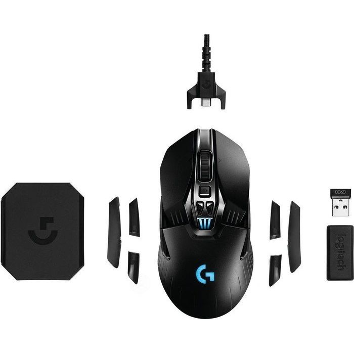 Logitech G900 Chaoas Spectrum Professionelle kabelgebundende Gaming Mouse