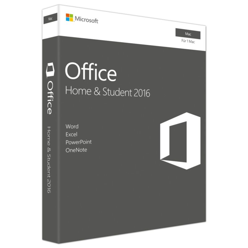 Microsoft Office 2016 Home & Student Mac PKC (P2)