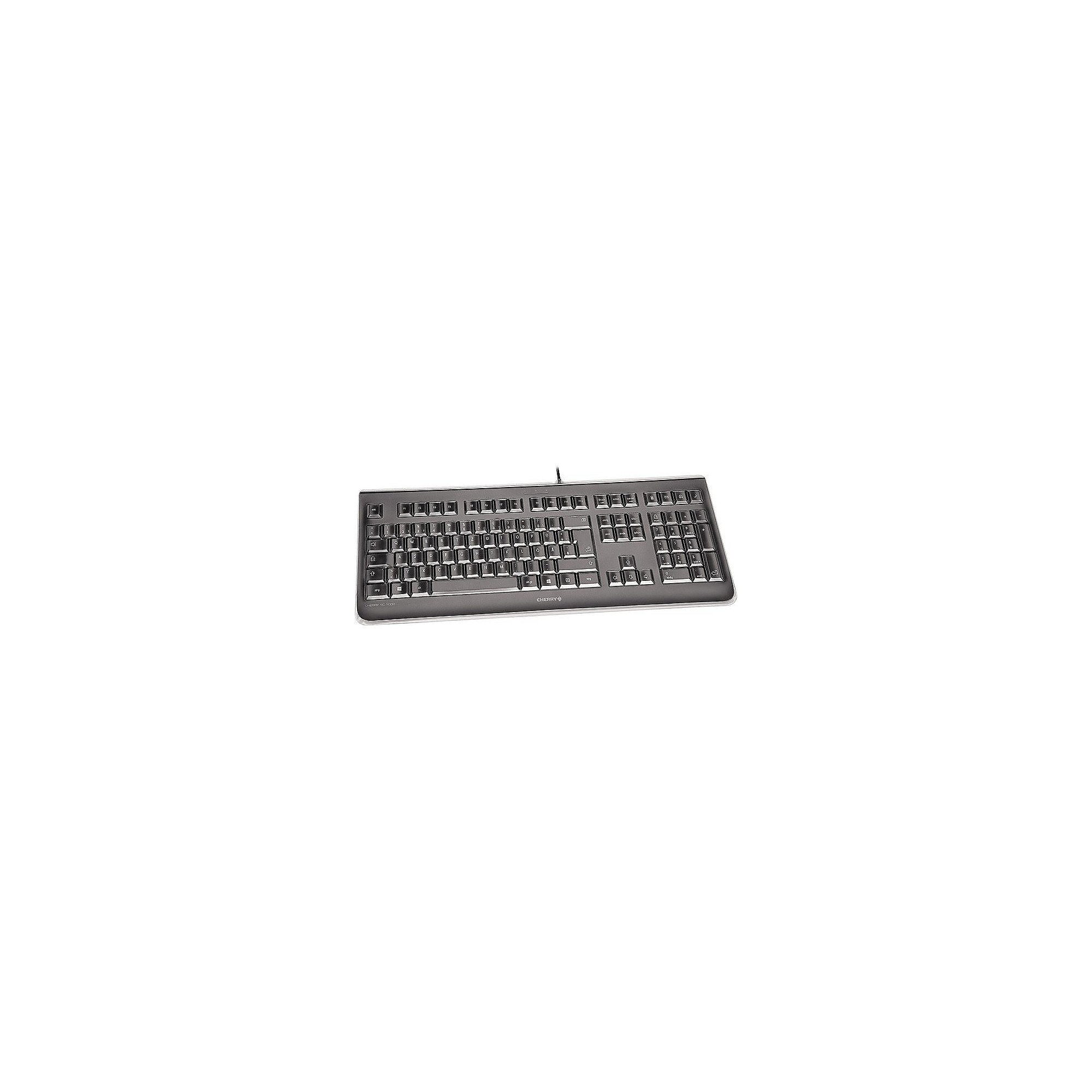 Cherry KC 1068 Corded Keyboard IP68 Protection USB Schwarz