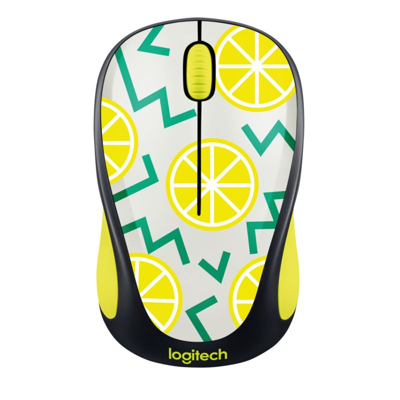 Logitech Wireless Mouse M238 Play Collection LEMON