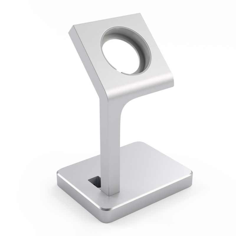 Satechi Aluminum Apple Watch Stand Silber