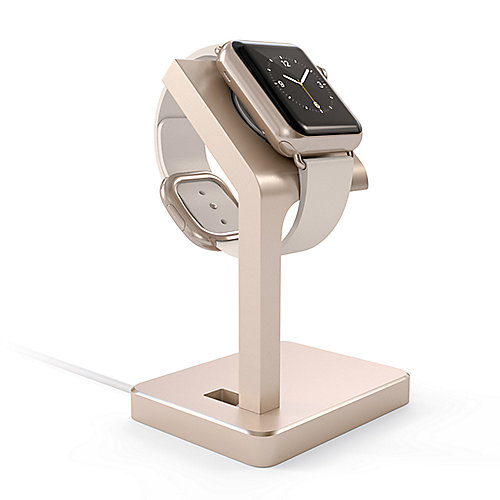 Satechi Aluminum Apple Watch Stand Gold