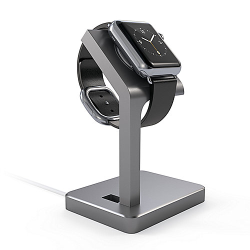 Satechi Aluminum Apple Watch Stand Space grey