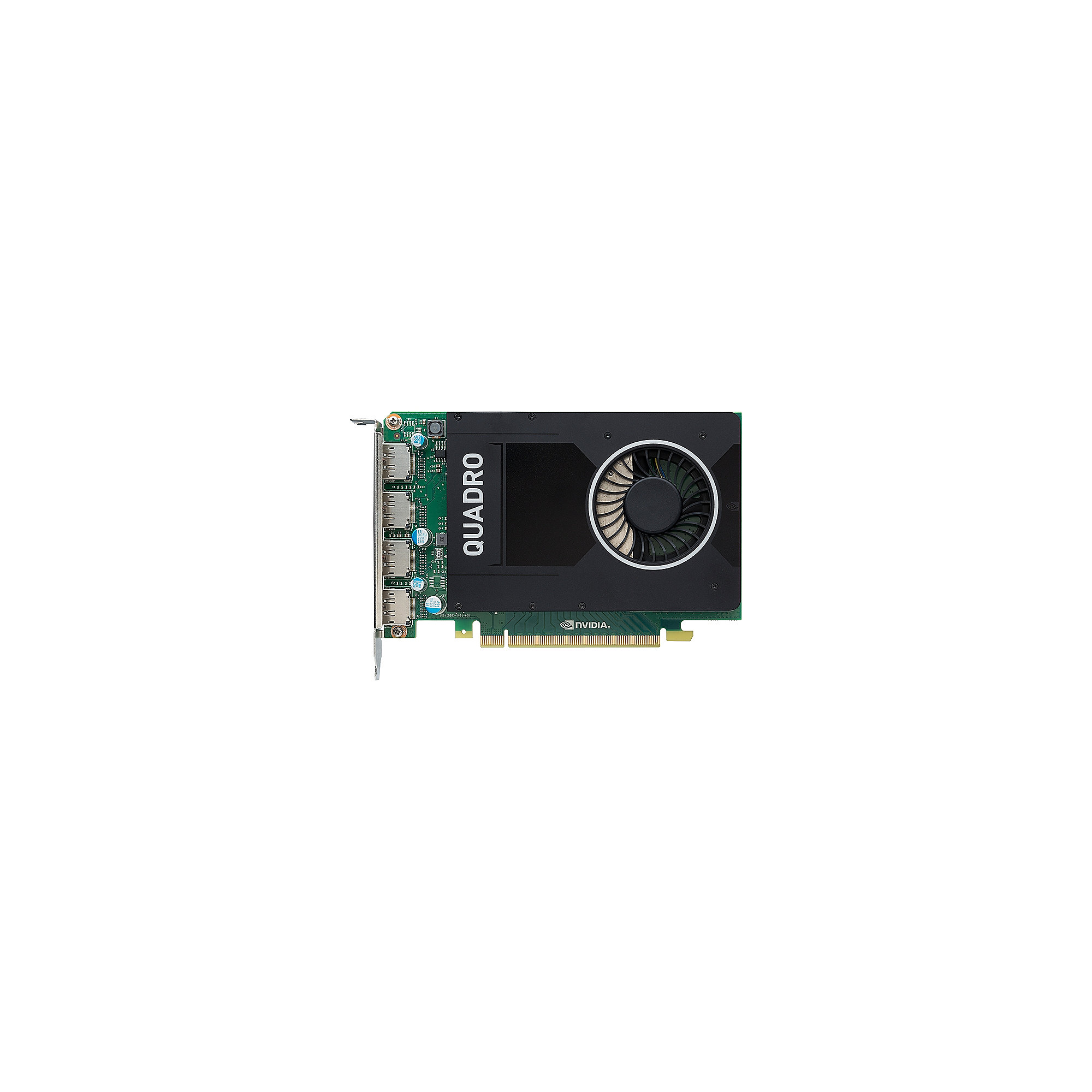 PNY NVIDIA Quadro M2000 4GB PCIe 3.0 Workstation Grafikkarte 4x DP (auf DVI)