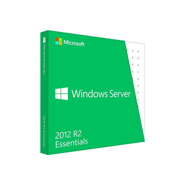 Microsoft Windows Server Essentials 2012 R2 x64 DVD 1-2CPU